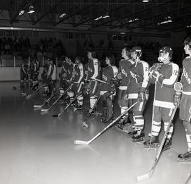Puck Dropping Ceremony at a Seneca Nationals Game - Finch Campus Sports CentreDropping Ceremony a...