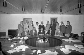 Committee in College Board Room