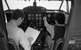 Students at Work in an Aviation Course